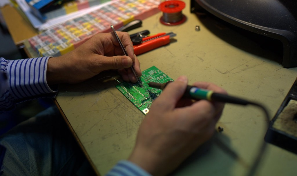 Soldering course