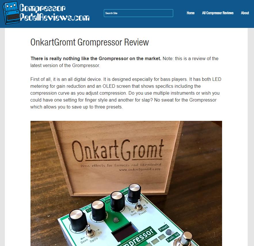 Review on compressorpedalreviews.com